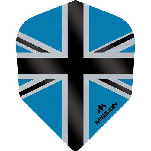 Mission Ailette Mission Alliance-X 100 Blue & Black NO6