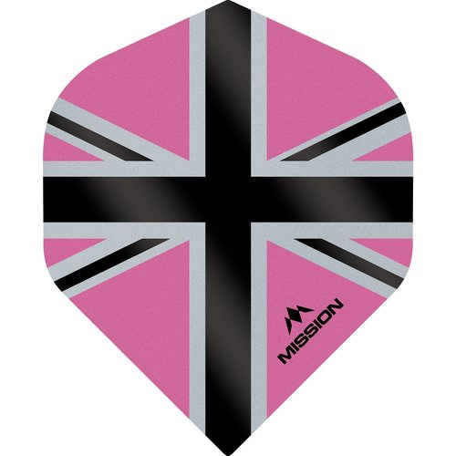 Mission Ailette Mission Alliance-X 100 Pink & Black NO2