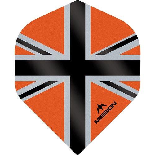 Mission Ailette Mission Alliance-X 100 Orange & Black NO2