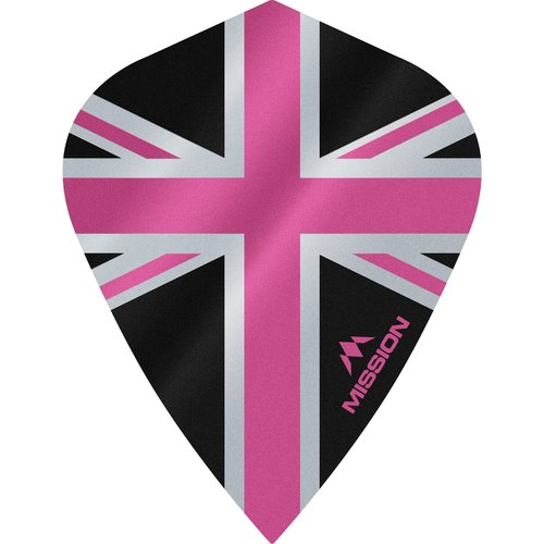 Mission Ailette Mission Alliance 100 Black & Pink Kite
