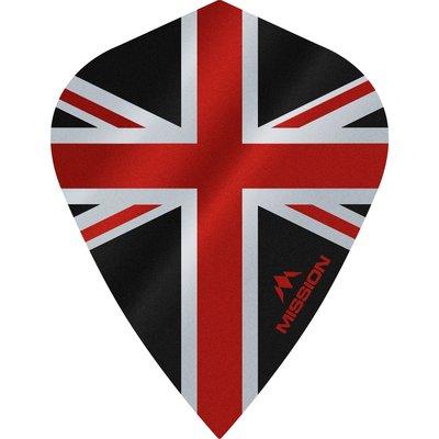 Ailette Mission Alliance 100 Black & Red Kite
