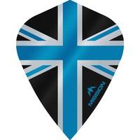 Mission Ailette Mission Alliance 100 Black & Blue Kite