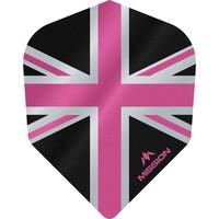 Mission Ailette Mission Alliance 100 Black & Pink NO6