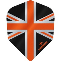 Mission Ailette Mission Alliance 100 Black & Orange NO6