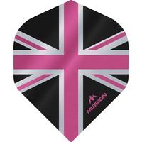 Mission Ailette Mission Alliance 100 Black & Pink NO2