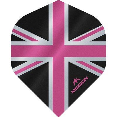 Ailette Mission Alliance 100 Black & Pink NO2