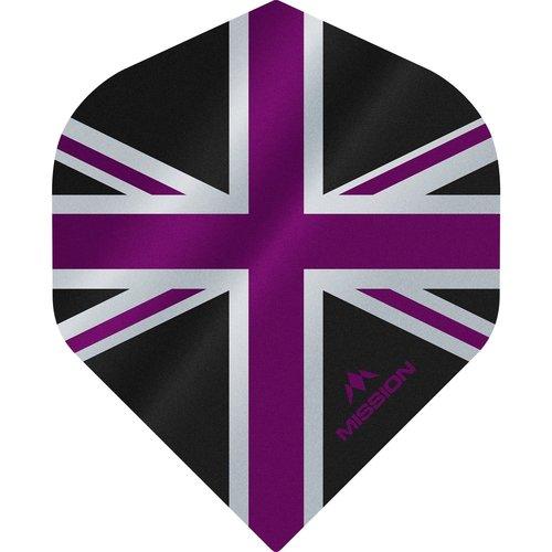 Mission Ailette Mission Alliance 100 Black & Purple NO2