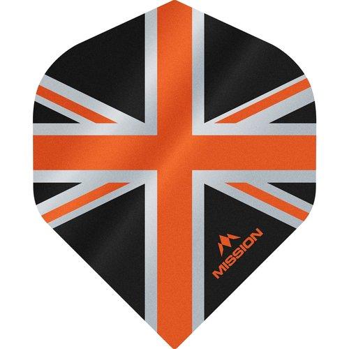 Mission Ailette Mission Alliance 100 Black & Orange NO2