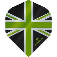 Mission Ailette Mission Alliance 100 Black & Green NO2