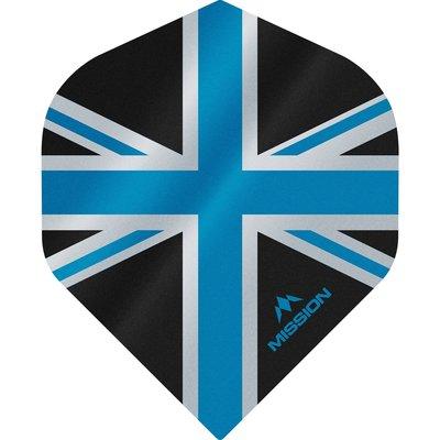 Ailette Mission Alliance 100 Black & Blue NO2