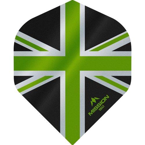 Mission Ailette Mission Alliance 150 Black & Green NO2