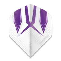 Winmau Ailette Winmau Prism Alpha Extra Thick White & Purple