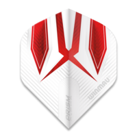 Winmau Ailette Winmau Prism Alpha Extra Thick White & Red
