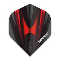 Winmau Ailette Winmau Prism Alpha Extra Thick Black & Red