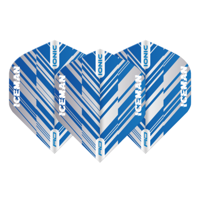 Ailette Gerwyn Price Hardcore Ionic  Blue & White Stripe