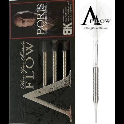 Dynasty A-FLOW Black Line Boris Krcmar 95% Soft Tip