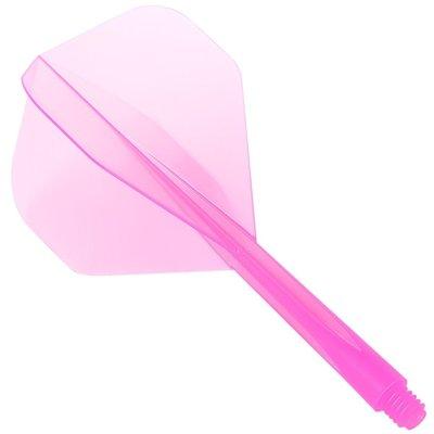 Ailette Condor Zero Stress  System - Standard Clear Pink