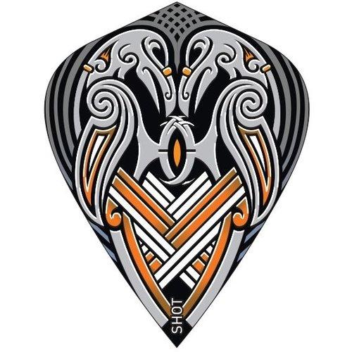 Shot! Ailette Shot Viking Raven Black Kite