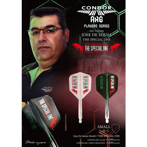 Condor Ailette Condor Axe Player - Jose de Sousa - The Special One Green - Small