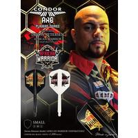 Condor Ailette Condor Axe Player - African Warrior - Inspiration 2 White - Small