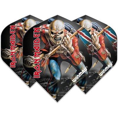 Ailette Winmau Rock Legends Iron Maiden Trooper