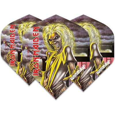 Ailette Winmau Rock Legends Iron Maiden Killers