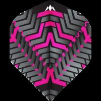 Mission Ailette Mission Vex NO2 Black & Pink