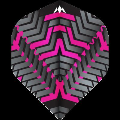 Ailette Mission Vex NO2 Black & Pink