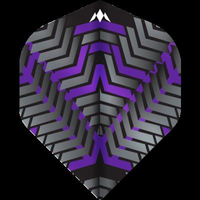 Ailette Mission Vex NO2 Black & Purple
