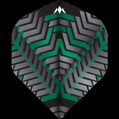 Ailette Mission Vex NO2 Black & Green