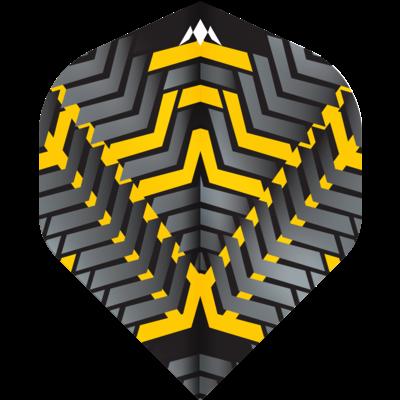 Ailette Mission Vex NO2 Black & Yellow