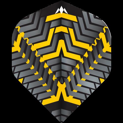 Mission Ailette Mission Vex NO2 Black & Yellow