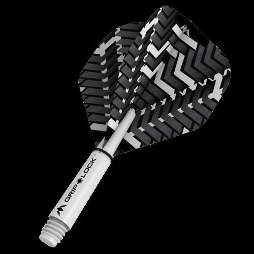 Mission Ailette Mission Vex NO2 Black & White