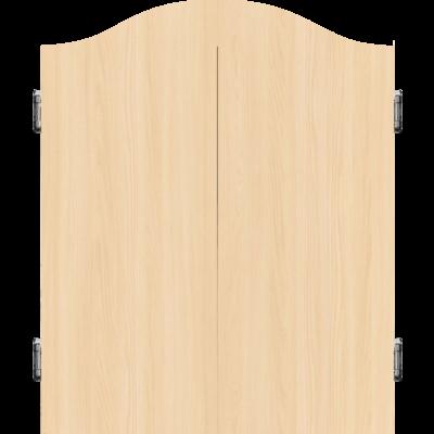Mission Deluxe Cabinet - Light Oak