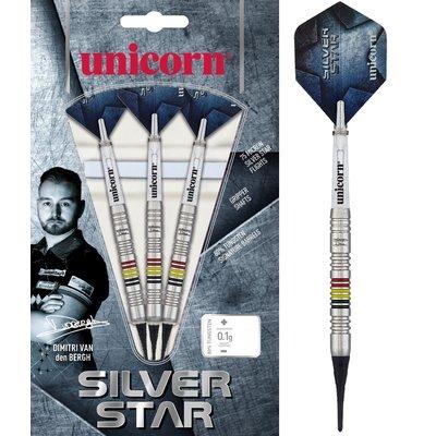 Unicorn Silverstar Dimitri van den Bergh 80% Soft Tip