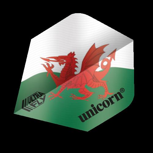 Unicorn Ailette Unicorn Ultrafly Wales Flag PLUS