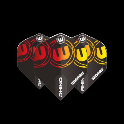 Ailette Winmau Rhino Extra Thick Logo Gradient Yellow V2