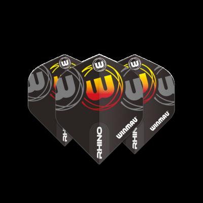 Ailette Winmau Rhino Extra Thick Logo Gradient Yellow V1