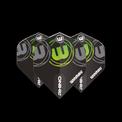 Ailette Winmau Rhino Extra Thick Logo Gradient Green V1