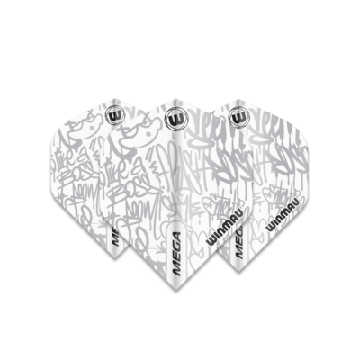 Ailette Winmau Mega Standard Graphic White
