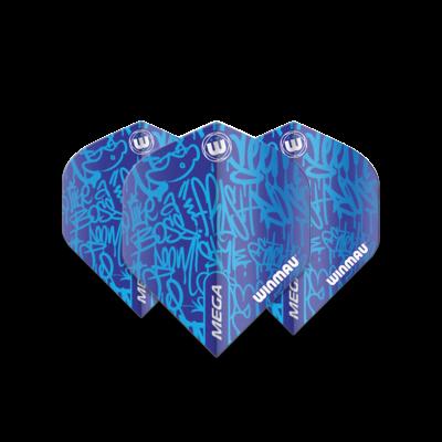 Ailette Winmau Mega Standard Graphic Blue