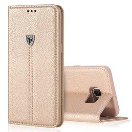 Xundd Noble Slim Fit PU leather wallet Case Hoesje met stand voor Samsung Galaxy S7 Edge