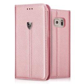 Xundd Noble Slim Fit Hoesje met stand voor Samsung Galaxy S7 Rose Goud