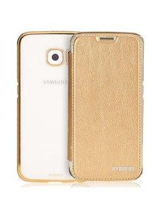 Xundd Xundd Samsung Galaxy S6 Edge Plus transparant TPU back hoesje Champagne Goud