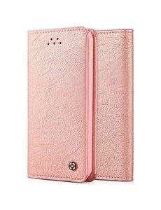 Xundd Hoesje voor iPhone 7 4.7 inch book case wallet met 2 pasjes Rose Goud