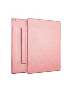 Xundd iPad Mini / Mini 2 / Miini 3 Folio Flip PU Leather hoesje met transparant backcover Rose Goud