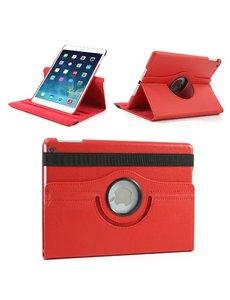 Merkloos Apple iPad Air 360 Graden Case Rood