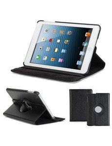 Merkloos Apple iPad Mini / Mini 2 draaibare Case Zwart