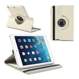 Merkloos iPad Mini / Mini 2 Case 360 Graden Draaibare Hoes Cover met Multi-Stand Wit