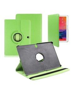 Merkloos Samsung Galaxy Tab Pro 10.1 Tablet hoesje 360 Draaibaar - Groen